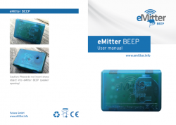 User Manual - eMitter Beep Mouse Trap Control System - Alpeco Pest Control